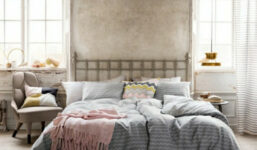 Béžová ložnice nemusí znamenat monotónnost
