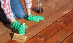 Jak správně pracovat s olejovou lazurou