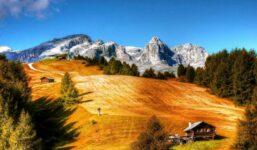 Dolomity, krásná krajina nejen pro lyžování