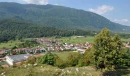 Slovinský Kobarid, malé městečko s velkými možnostmi