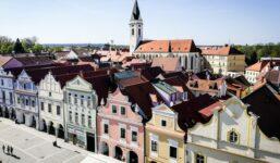 Třeboň, vyhledávaný cíl turistů při návštěvě jižních Čech