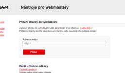 Jak dostat webové stránky do vyhledávačů?