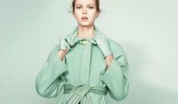 Jak stylově nosit oblečení mátově zelené barvy?